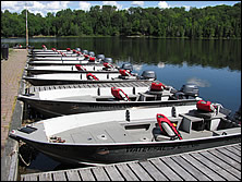 custom boats with brand new engines