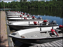 brand new, custom-built fishing boats